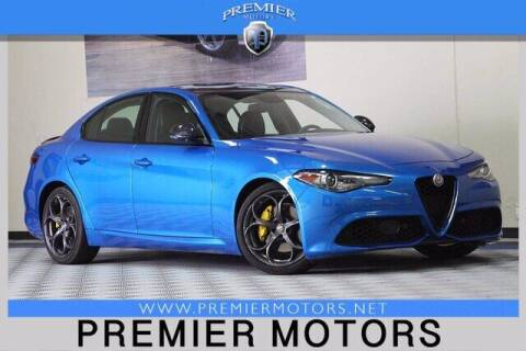 2018 Alfa Romeo Giulia for sale at Premier Motors in Hayward CA