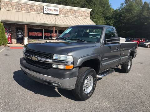 2002 Chevrolet Silverado 2500HD for sale at Driven Pre-Owned in Lenoir NC