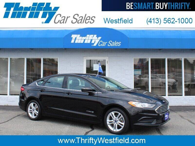 2018 Ford Fusion Hybrid for sale at Thrifty Car Sales Westfield in Westfield MA