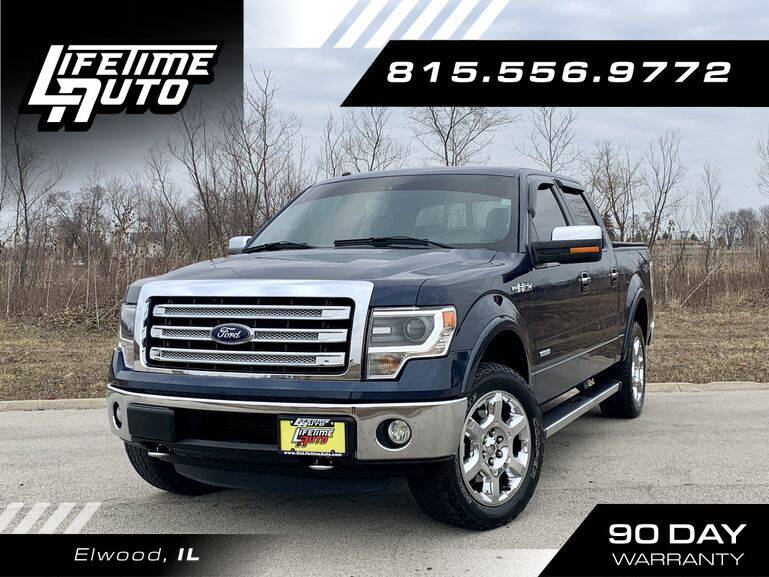 2013 Ford F-150 for sale at Lifetime Auto in Elwood IL