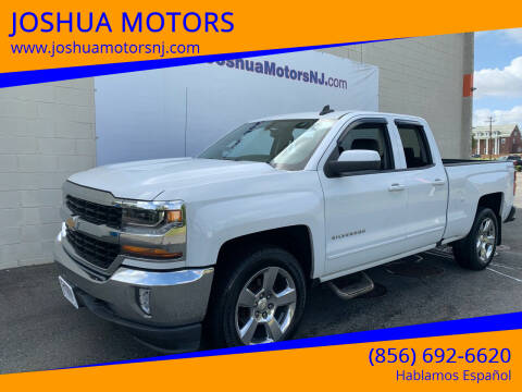 2016 Chevrolet Silverado 1500 for sale at JOSHUA MOTORS in Vineland NJ