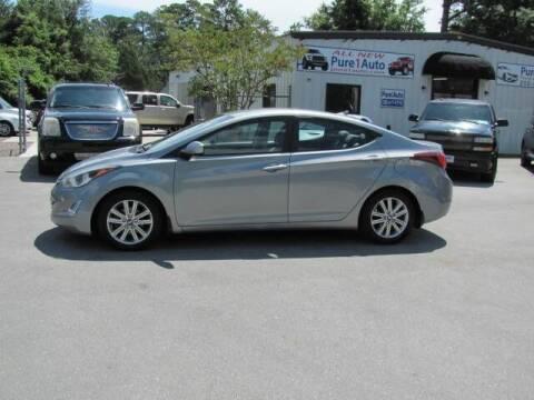 2016 Hyundai Elantra for sale at Pure 1 Auto in New Bern NC