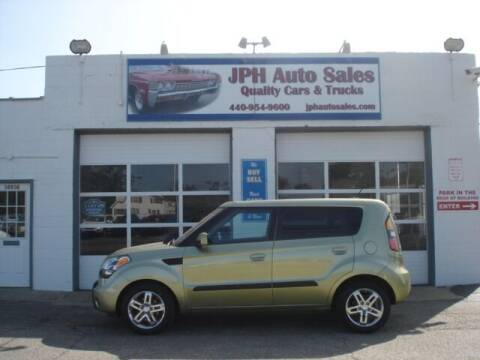 2010 Kia Soul for sale at JPH Auto Sales in Eastlake OH