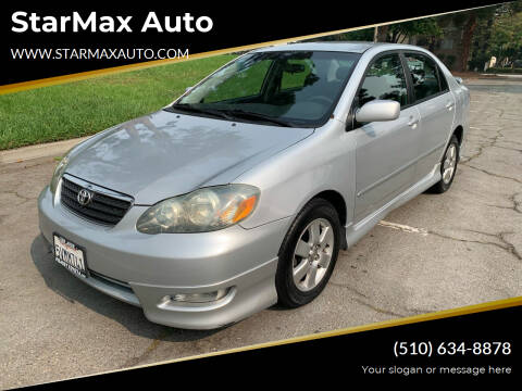 2006 Toyota Corolla for sale at StarMax Auto in Fremont CA