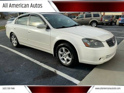 2005 Nissan Altima for sale at All American Autos in Kingsport TN