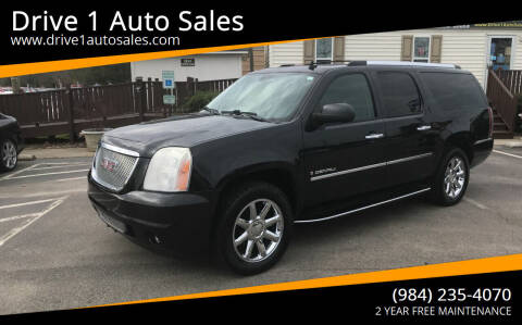 2009 GMC Yukon XL for sale at Drive 1 Auto Sales in Wake Forest NC