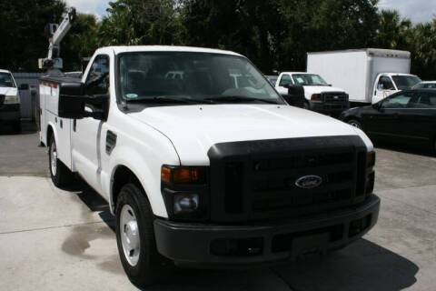 2009 Ford F-250 Super Duty for sale at Mike's Trucks & Cars in Port Orange FL