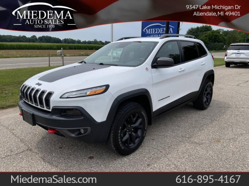 2018 Jeep Cherokee for sale at Miedema Auto Sales in Allendale MI