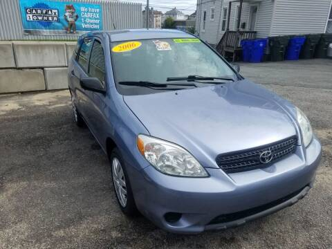 2006 Toyota Matrix for sale at Fortier's Auto Sales & Svc in Fall River MA