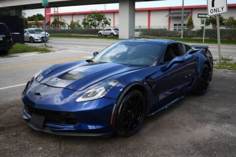2019 Chevrolet Corvette for sale at ELITE MOTOR CARS OF MIAMI in Miami FL