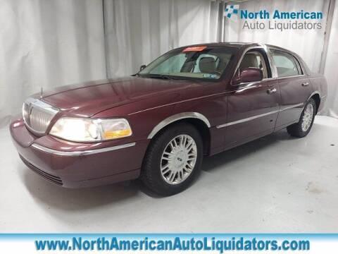 2011 Lincoln Town Car for sale at North American Auto Liquidators in Essington PA