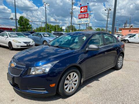 2011 Chevrolet Cruze for sale at 4th Street Auto in Louisville KY