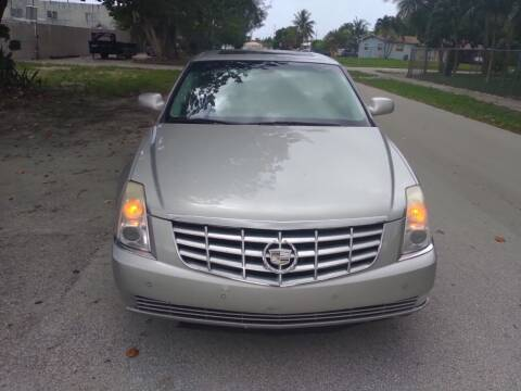 2006 Cadillac DTS for sale at LAND & SEA BROKERS INC in Pompano Beach FL