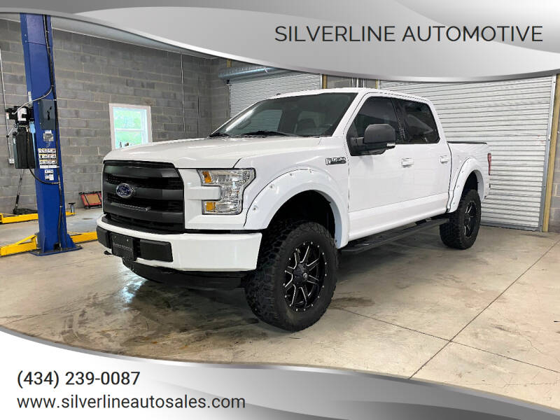 2015 Ford F-150 for sale at Silverline Automotive in Lynchburg VA