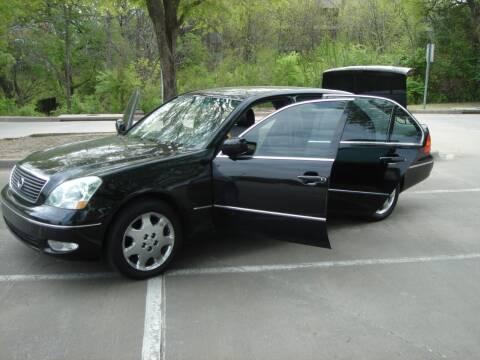 2003 Lexus LS 430 for sale at ACH AutoHaus in Dallas TX