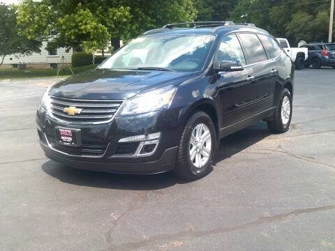 2014 Chevrolet Traverse for sale at Stoltz Motors in Troy OH