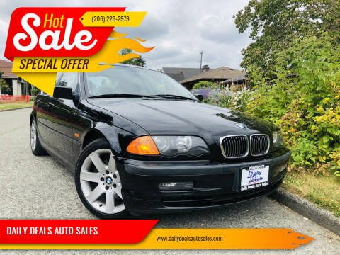 2000 BMW 3 Series for sale at DAILY DEALS AUTO SALES in Seattle WA