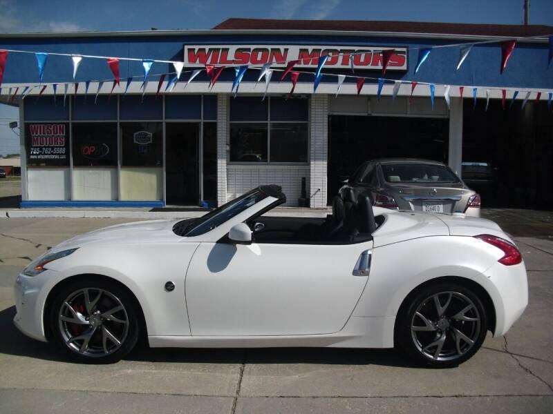 2013 Nissan 370Z for sale at Wilson Motors in Junction City KS