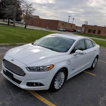 2016 Ford Fusion Energi for sale at Future Motors in Addison IL
