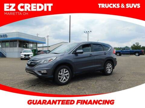 2016 Honda CR-V for sale at Pioneer Family preowned autos in Williamstown WV