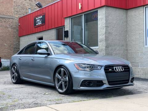 2014 Audi S6 for sale at Alpha Motors in Chicago IL