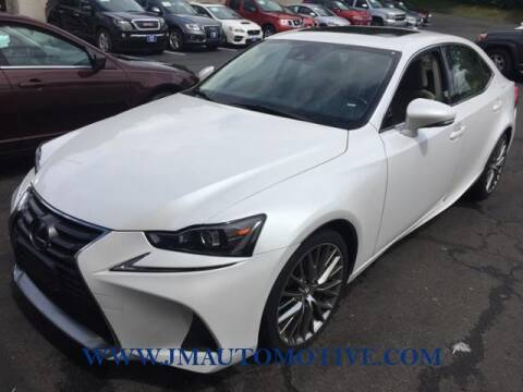 2017 Lexus IS 300 for sale at J & M Automotive in Naugatuck CT