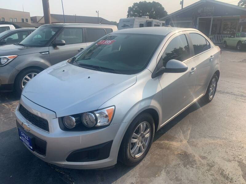 2015 Chevrolet Sonic for sale at EAGLE AUTO SALES in Lindale TX