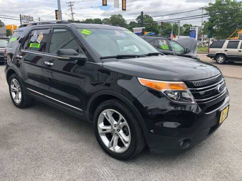 2011 Ford Explorer for sale at Crown Auto Sales in Abington MA