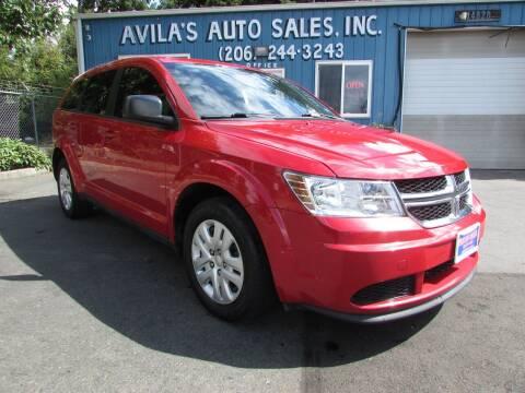 2014 Dodge Journey for sale at Avilas Auto Sales Inc in Burien WA