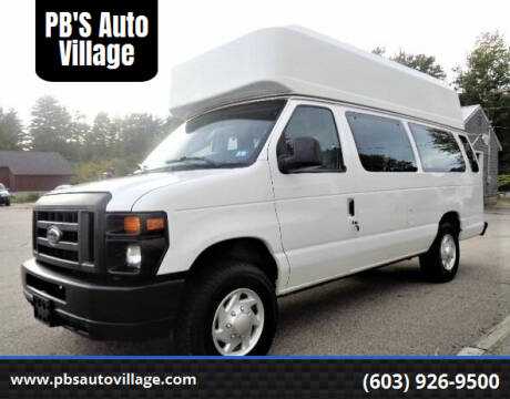 2011 Ford E-Series Cargo for sale at PB'S Auto Village in Hampton Falls NH