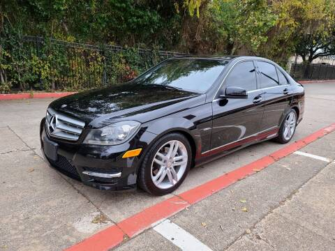 2012 Mercedes-Benz C-Class for sale at DFW Autohaus in Dallas TX