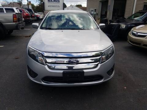 2012 Ford Fusion for sale at Roy's Auto Sales in Harrisburg PA