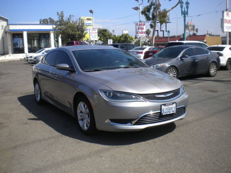 2015 Chrysler 200 for sale at AUTO SELLERS INC in San Diego CA