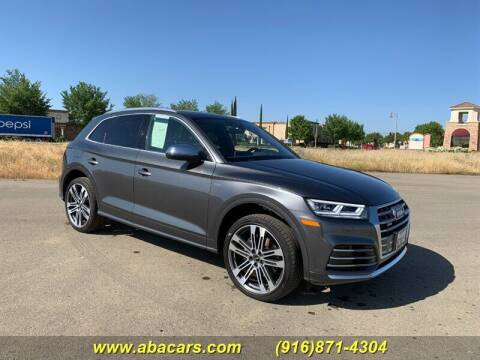 2018 Audi SQ5 for sale at About New Auto Sales in Lincoln CA