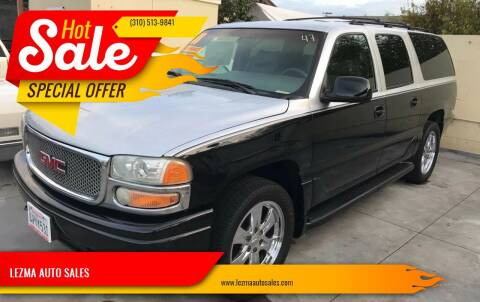 2001 GMC Yukon XL for sale at Auto Emporium in Wilmington CA