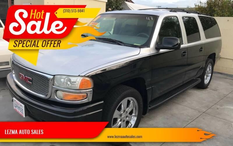 2001 GMC Yukon XL for sale at Auto Emporium in Wilmington CA
