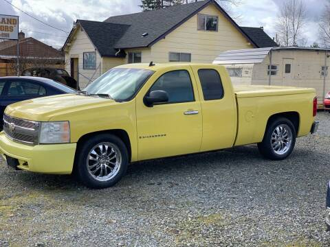 2008 Chevrolet Silverado 1500 for sale at MIDLAND MOTORS LLC in Tacoma WA
