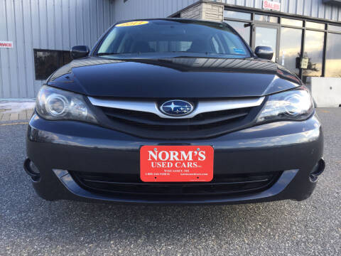2011 Subaru Impreza for sale at NORM'S USED CARS INC in Wiscasset ME