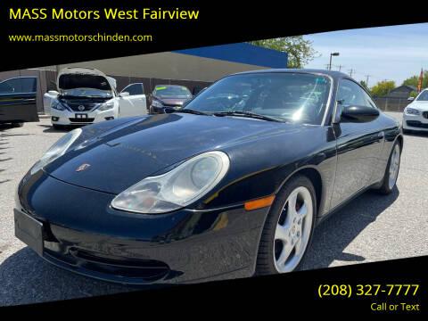 1999 Porsche 911 for sale at M.A.S.S. Motors - West Fairview in Boise ID