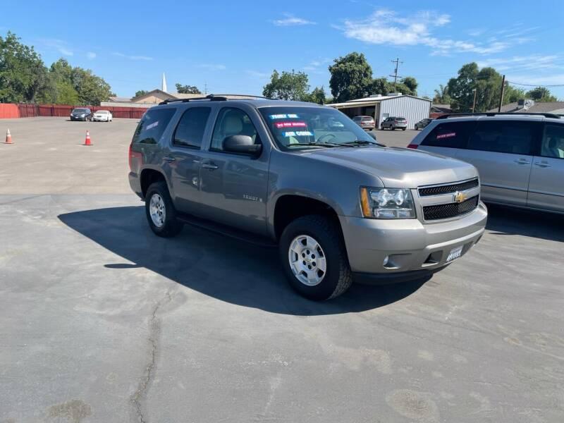 2007 Chevrolet Tahoe for sale at Mega Motors Inc. in Stockton CA