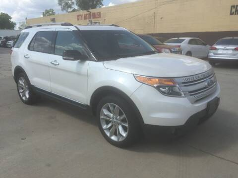 2013 Ford Explorer for sale at City Auto Sales in Roseville MI