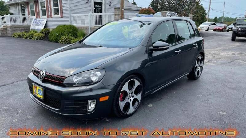 2012 Volkswagen GTI for sale at RBT Automotive LLC in Perry OH