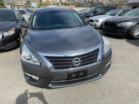 2014 Nissan Altima for sale at GRAND AUTO SALES - CALL or TEXT us at 619-503-3657 in Spring Valley CA