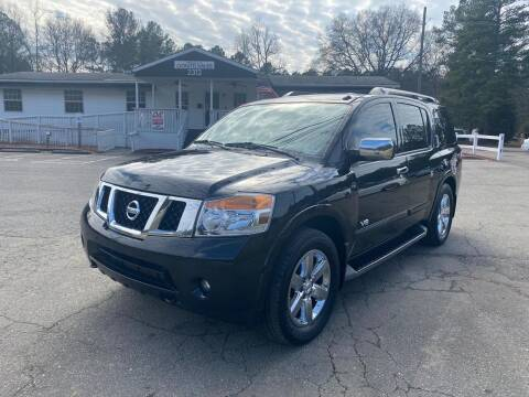 2009 Nissan Armada for sale at CVC AUTO SALES in Durham NC