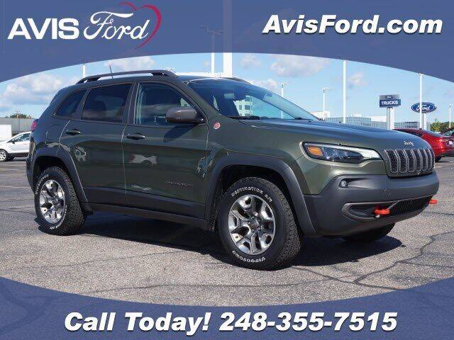2019 Jeep Cherokee for sale at Work With Me Dave in Southfield MI