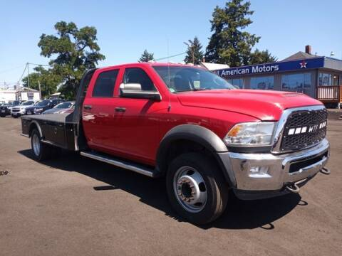 2018 RAM Ram Chassis 5500 for sale at All American Motors in Tacoma WA