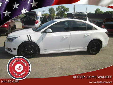 2012 Chevrolet Cruze for sale at Autoplex 2 in Milwaukee WI