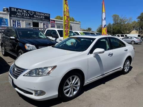 2011 Lexus ES 350 for sale at Black Diamond Auto Sales Inc. in Rancho Cordova CA