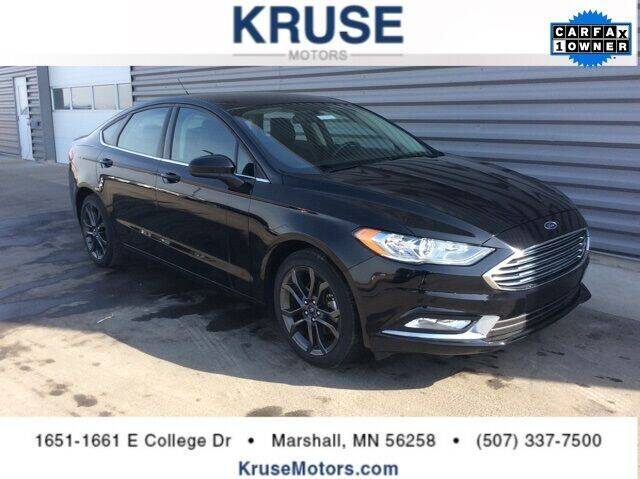 2018 Ford Fusion for sale in Marshall, MN