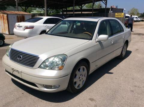 2003 Lexus LS 430 for sale at OASIS PARK & SELL in Spring TX